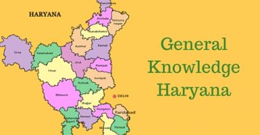 latest GK questions and answers from Haryana