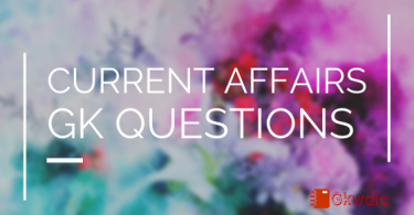 current affairs and general knowledge Q/A September- 2016