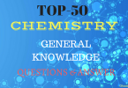 Chemistry General Knowledge Questions and Answers