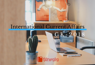 International Current Affairs