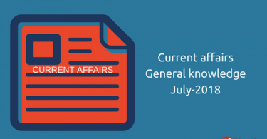 Important Current Affairs General Knowledge