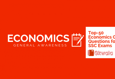 Top - 50 Economics GK Questions Answer