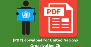 [PDF] download for United Nations Organization Gk
