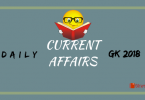 Daily Current Affairs General Knowledge January 07, 2019