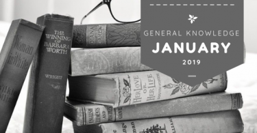 January- General knowledge current affairs Gk 2019