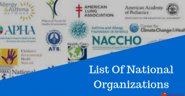 List of National Organization in India- Their Headquarters & Head