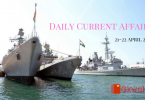 Daily Current Affairs & GK Questions 21-22 April 2019