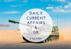 Daily Current Affairs & GK Questions 9 April 2019